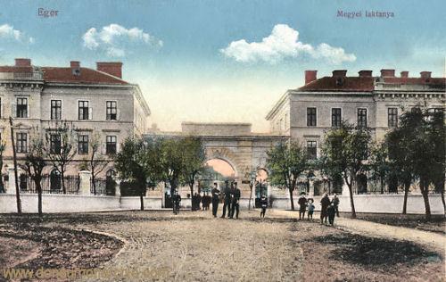 Erlau (Eger), Megyei laktanya (Kaserne)