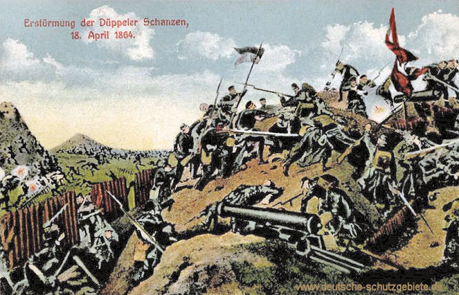 Erstürmung der Düppeler Schanzen am 18. April 1864