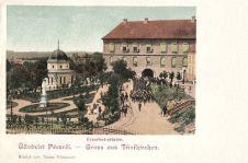 Fünfkirchen, Erzsébet sétatér (Elisabeth Promenade)