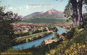 Innsbruck nach Süden