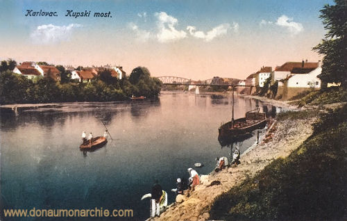 Karlstadt (Karlovac, Kupski most (Kulpabrücke)