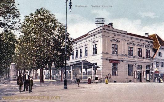 Karlstadt (Karlovac), Velika Kavana (Großes Kaffeehaus)