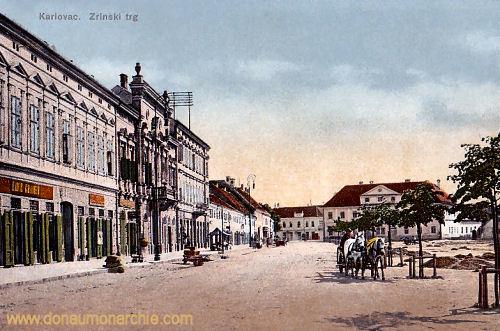 Karlstadt (Karlovac), Zrinski trg (Zrinski Platz)