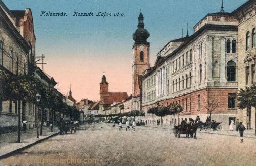 Klausenburg (Kolozsvár - Cluj), Kossuth Lajos utca