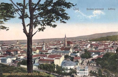 Klausenburg (Kolozsvár - Cluj), Stadtansicht