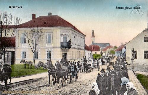 Kreutz (Križevci), Sermagieva ulica