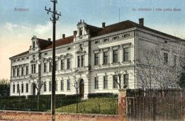 Kreutz (Križevci), Kr. učiteljska i niža pučka škola (Grundschule)