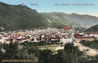 Kronstadt (Brassó - Brașov), Panorama vom Schlossberg