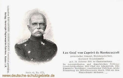 Leo Graf von Caprivi de Montecuccoli