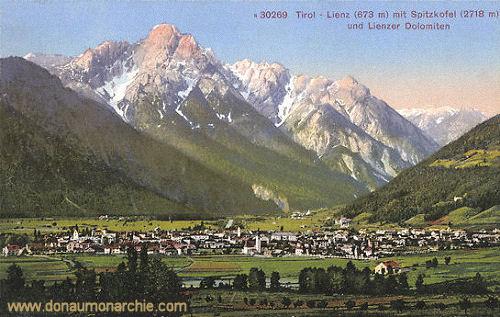 Lienz, Spitzkofel (2718 m) und Lienzer Dolomiten