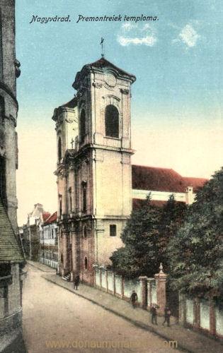Großwardein (Nagyvárad), Premontreiek temploma (Kirche)