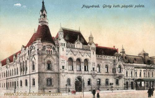 Großwardein (Nagyvárad), Görög kath. püspöki palota (Griechisch Kath. Bischofspalast)