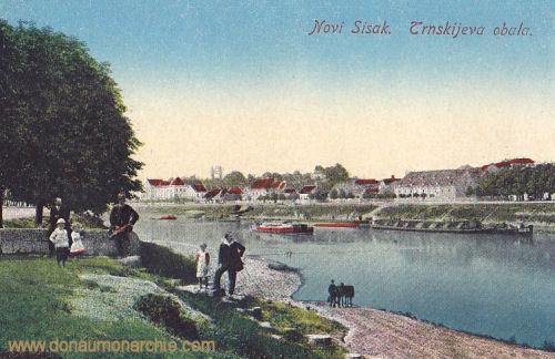 Neu-Sissek (Novi Sisak), Trnskijeva obala
