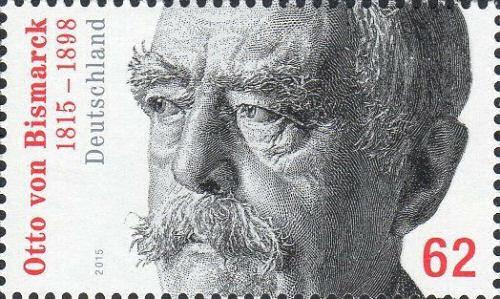 Otto von Bismarck, Briefmarke Deutschland 2015