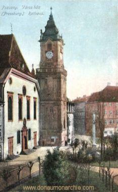 Pressburg (Pozsony, Bratislava), Rathaus