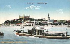 Pressburg (Pozsony, Bratislava), Schloss