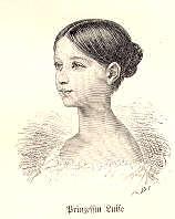 Prinzessin Luise (die spätere Großherzogin von Baden)
