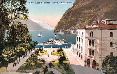 Riva, Gardasee, Hotel Sonne
