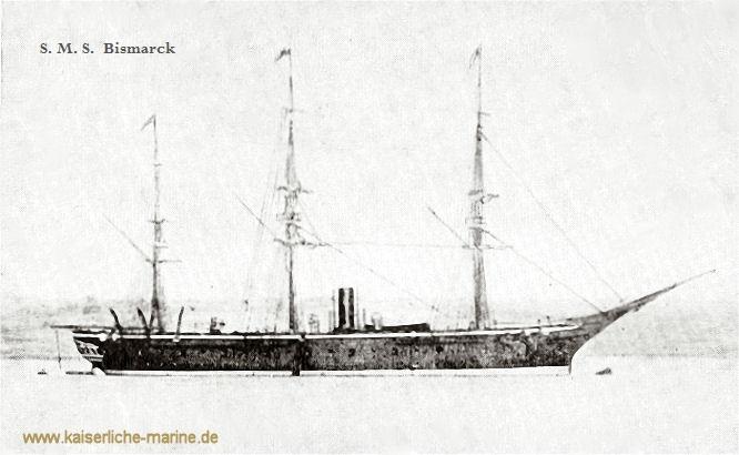 S.M.S. Bismarck, Kreuzerfregatte