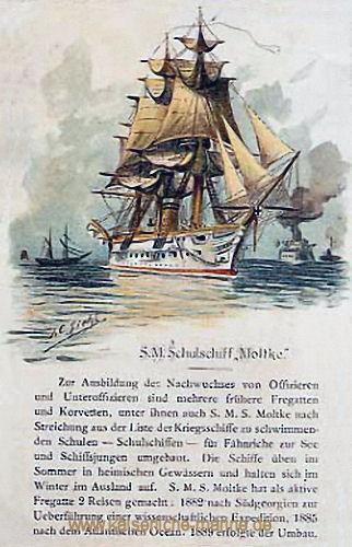 S.M.S. Moltke, Schulschiff