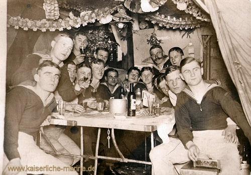 S.M.S. Roon, Weihnachten 1916