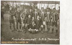 S.M.S. Thüringen, Fußballmannschaft