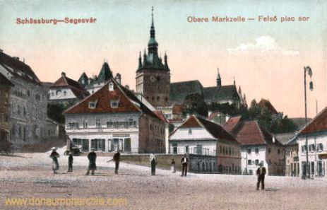 Schässburg (Segesvár - Sighișoara), Obere Marktzeile