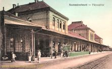Szatmár-Németi, Pályaudvar (Bahnhof)