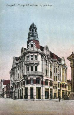 Szegedin (Szeged), Czongrádi takarék új palotája