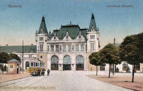 Temesvár, Józsefvárosi pályaudvar (Bahnhof)