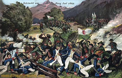 Tiroler Freiheitskampf, Schlacht am Berg Isel 1809