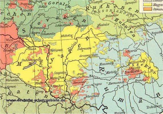 Königreich Ungarn, Bevölkerung 1914