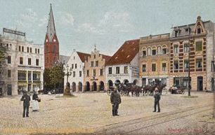 Allenstein O.-Pr., Markt