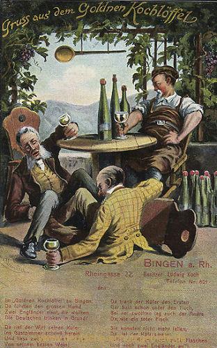 Bingen, Gruß aus dem Goldenen Kochlöffel
