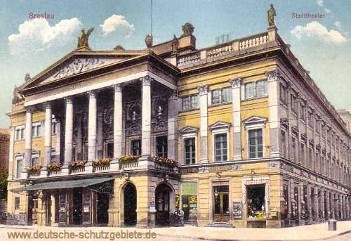 Breslau, Stadttheater