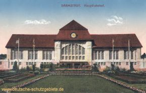 Darmstadt, Hauptbahnhof