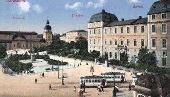 Darmstadt, Museum, Theater, Schloss