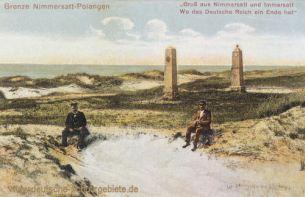Deutsch-Russische Grenze Nimmersatt-Polangen