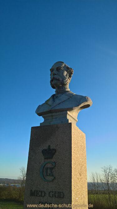 Düppel, König Christian-Denkmal