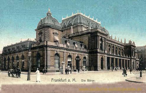 Frankfurt a. M., Börse