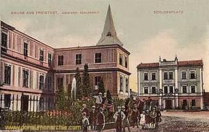 Freistadt, Schlossplatz