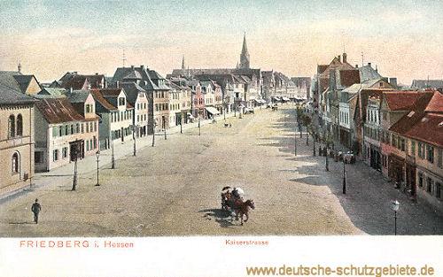 Friedberg in Hessen, Kaiserstraße
