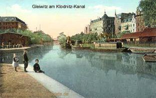 Gleiwitz am Klodnitz-Kanal