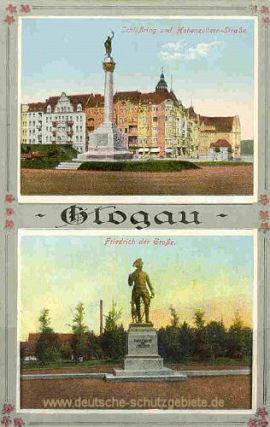 Glogau, Friedrich der Große