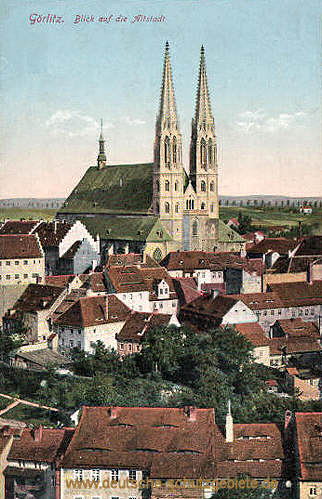 Görlitz, Blick auf die Altstadt