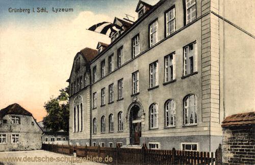 Grünberg, Lyzeum