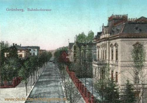 Grünberg, Bahnhofstraße