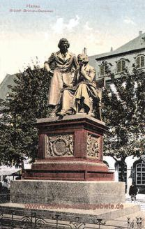 Hanau, Brüder Grimm-Denkmal