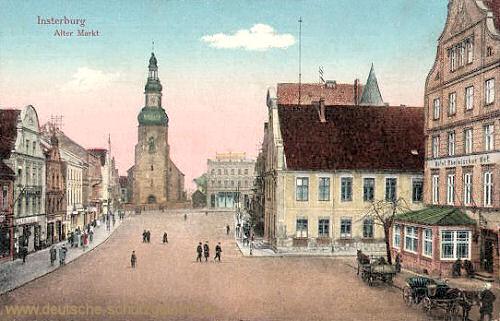 Insterburg, Alter Markt