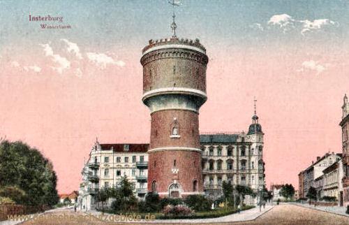 Insterburg, Wasserturm